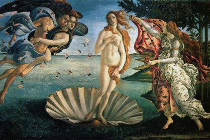 Botticelli birth of venus small wa5pqe
