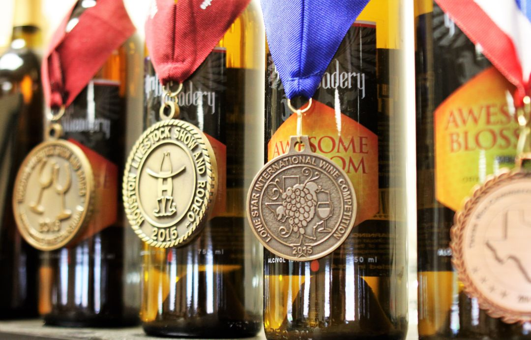 Griffin meadery awards r5psan