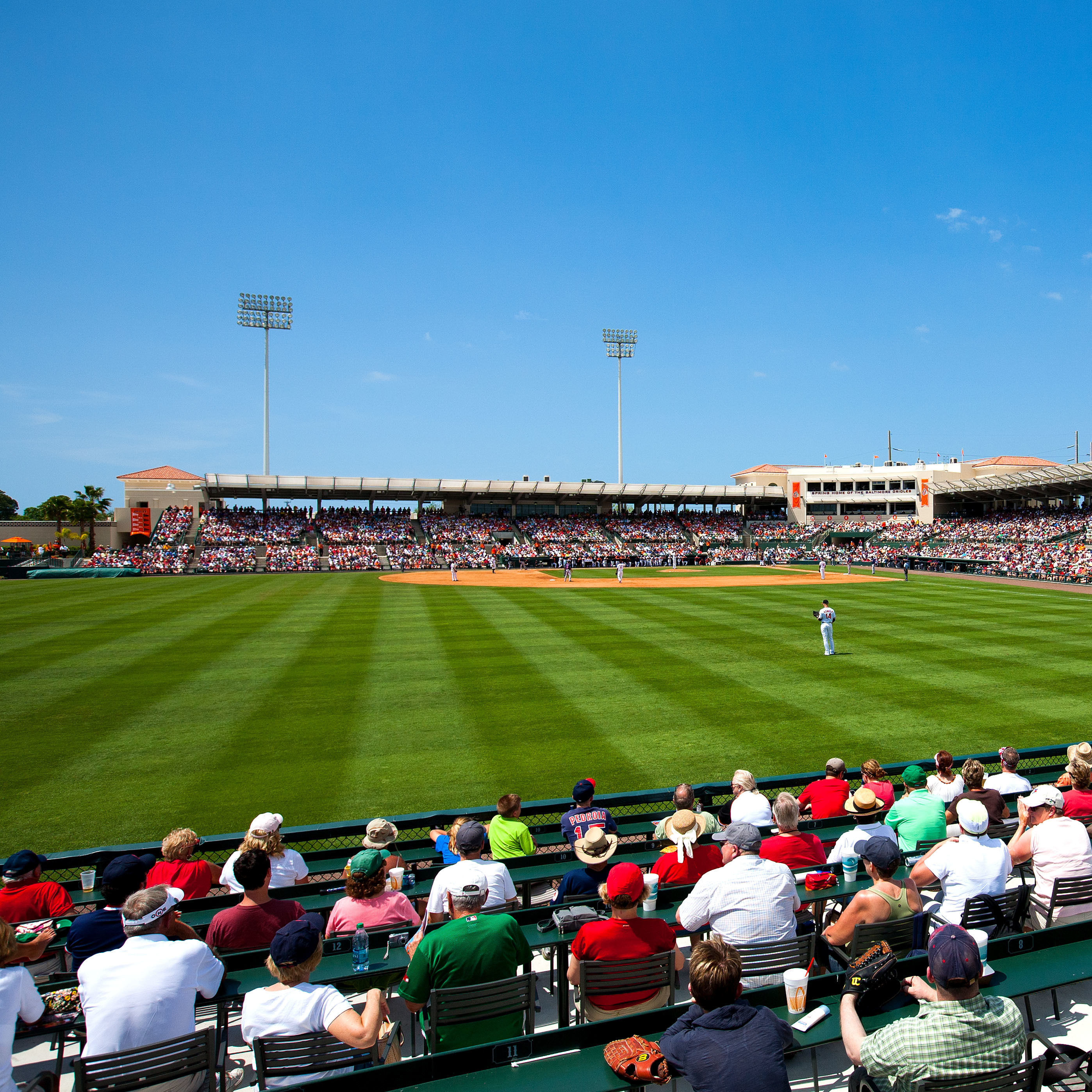Ed smith stadium infield robert pope photography ah8ttf