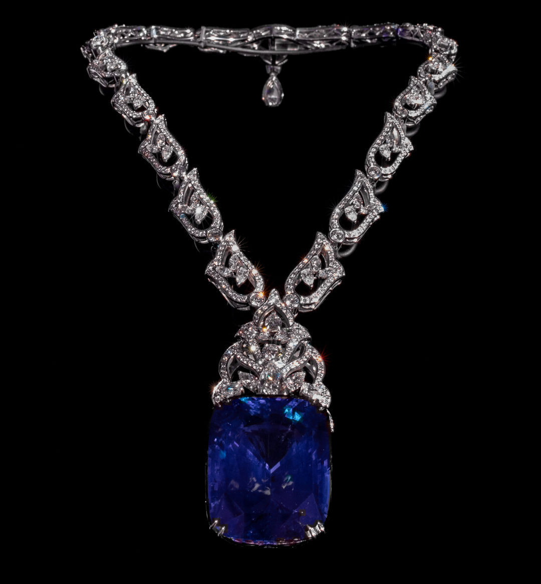 Siren of  Serendip blue sapphire