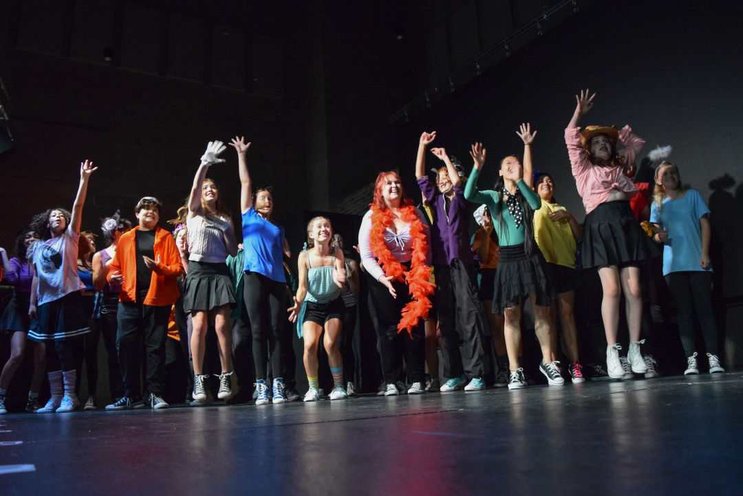 Rise Above Performing Arts presents Godspell this weekend.
