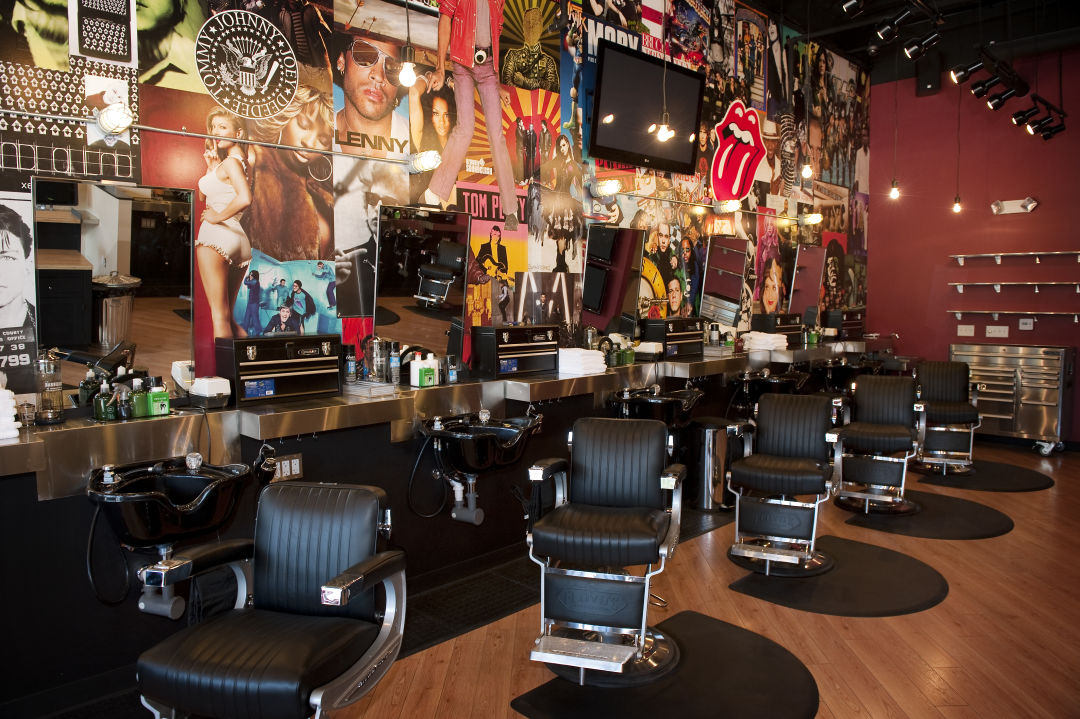 Superb A Barbershop Chain With Rock N Roll Flair Comes To Houston Interior Design Ideas Grebswwsoteloinfo