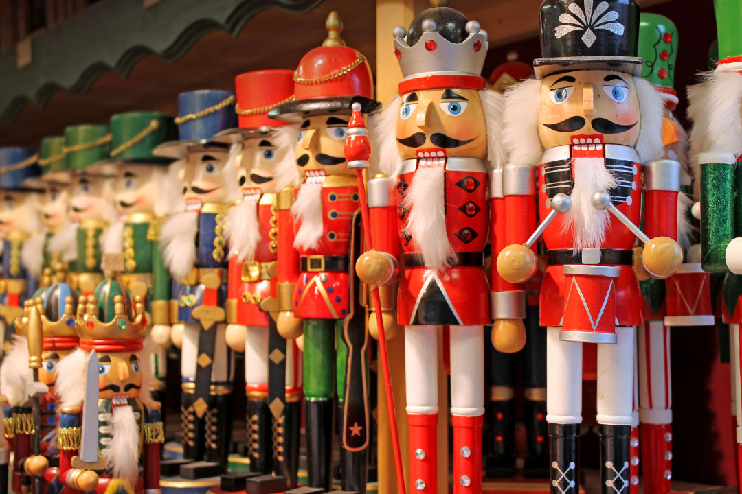 A photo of nutcracker dolls.
