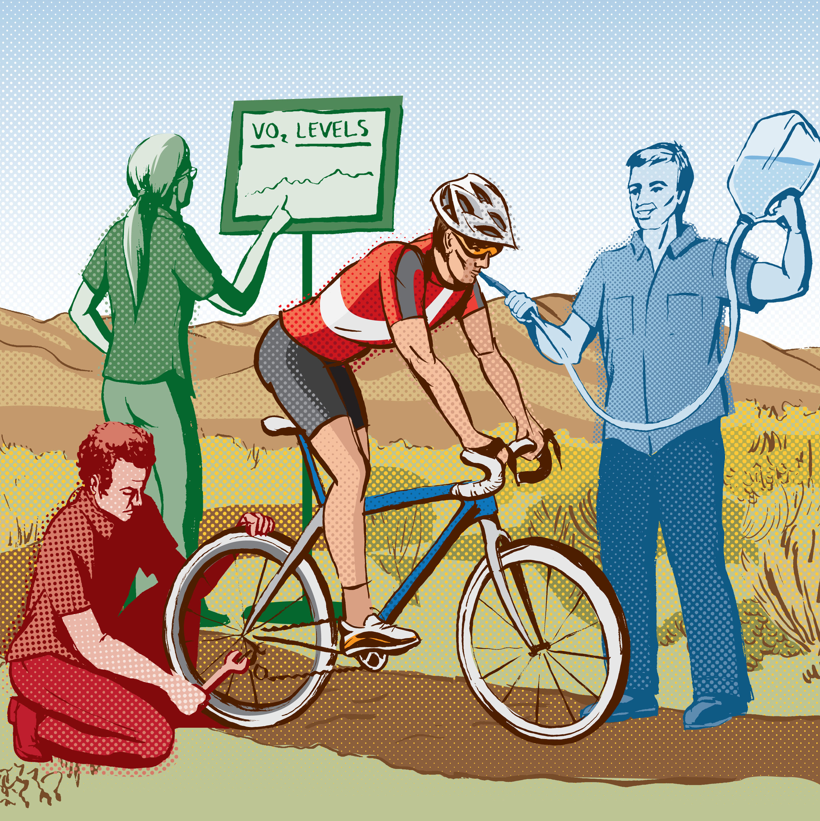Park city summer 2012 health wellness bike illo 1 fhhgz5