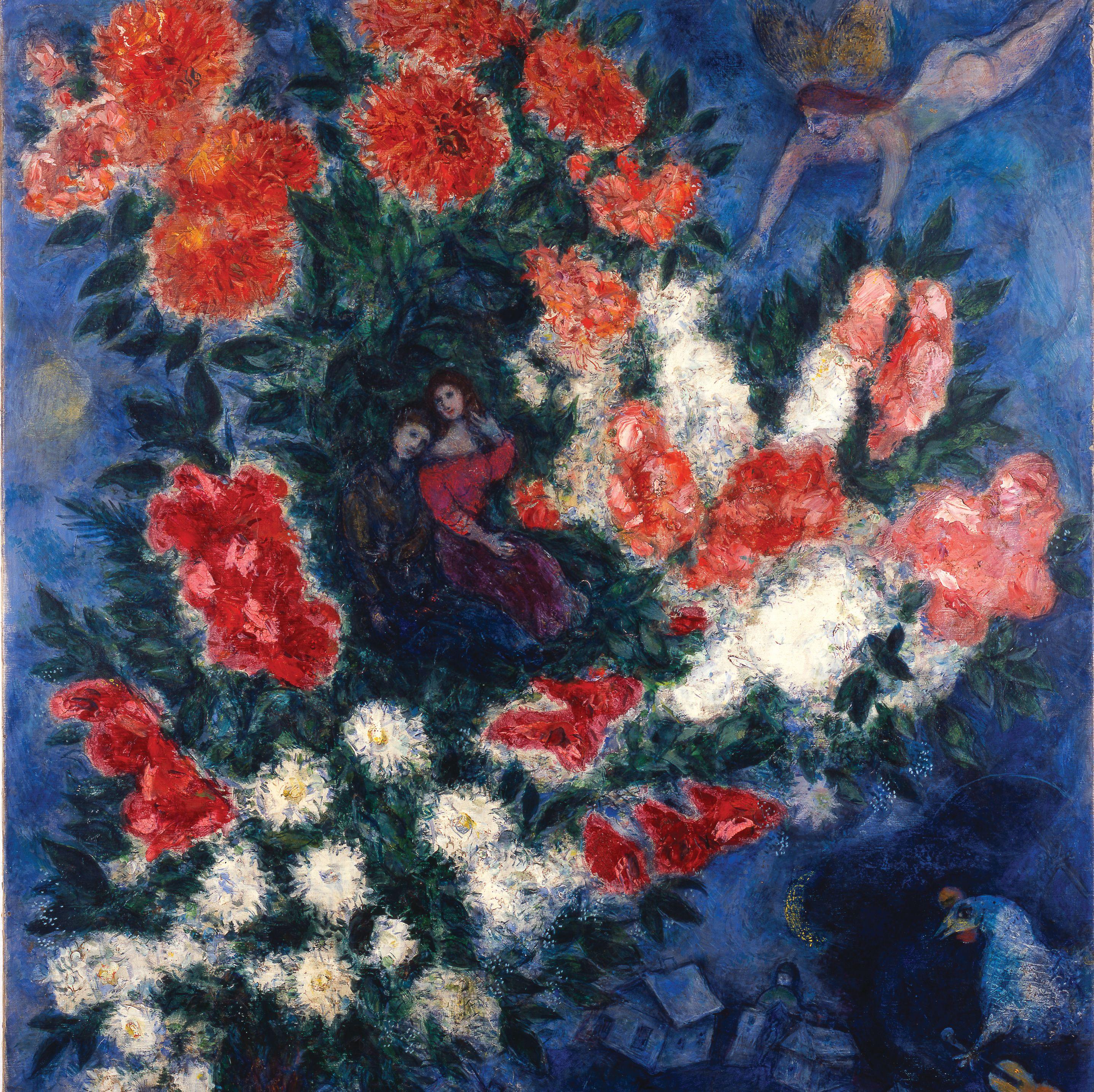 Chagall the lovers qyku9b