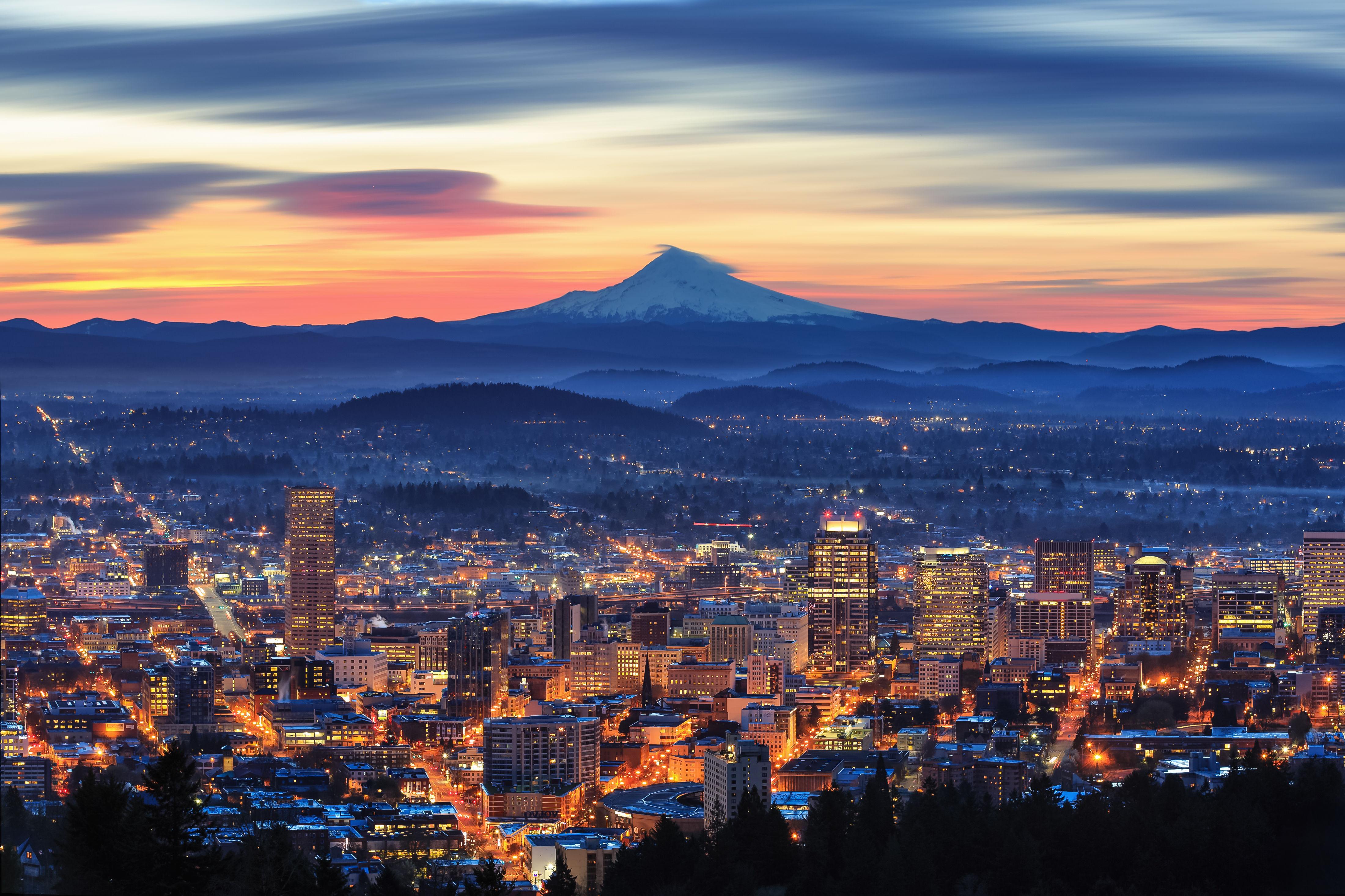 Portland skyline wwmayn