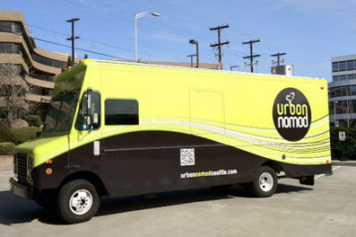 Urban nomad food truck sqbdrk