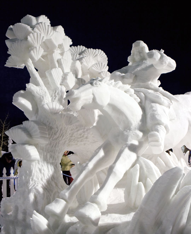 Cosu summer 2013 arts snow sculpture championships u7dzzl