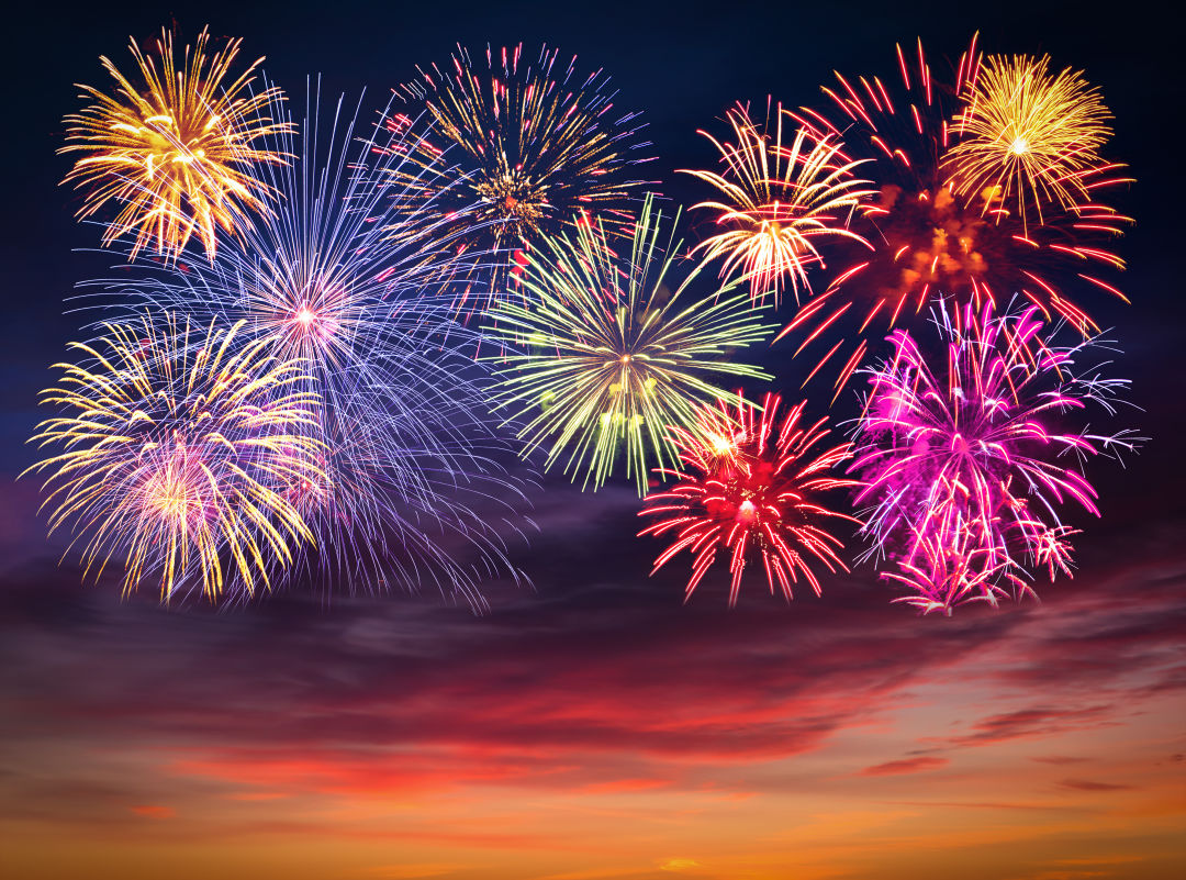 Great places to watch fourth of july fireworks and for What is celebrated on the 4th of july