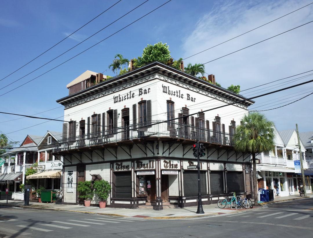 Duval Street's Whistle Bar