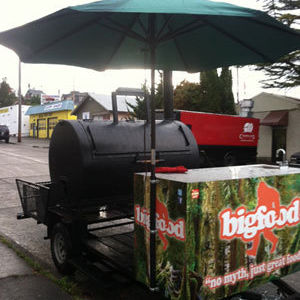 Bigfood food truck barbecue trailer jlfvti