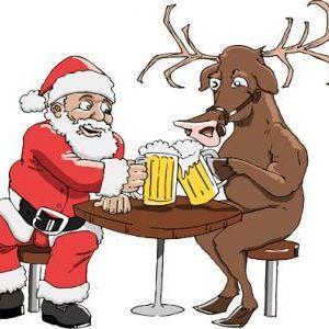 Santa claus beer 0 n79vhf