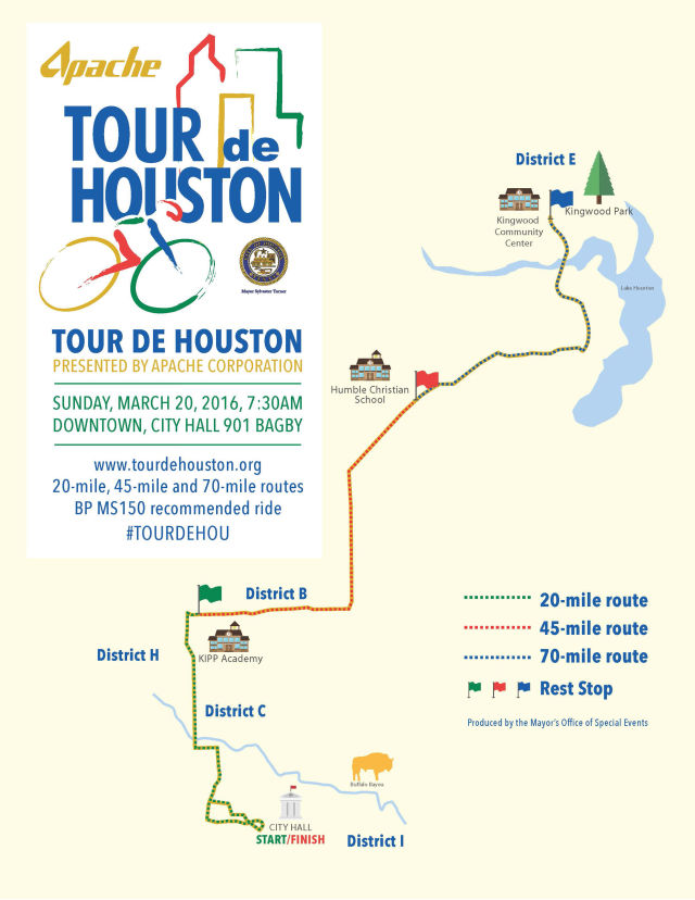 Tour de houston route map 2016 hge8g8