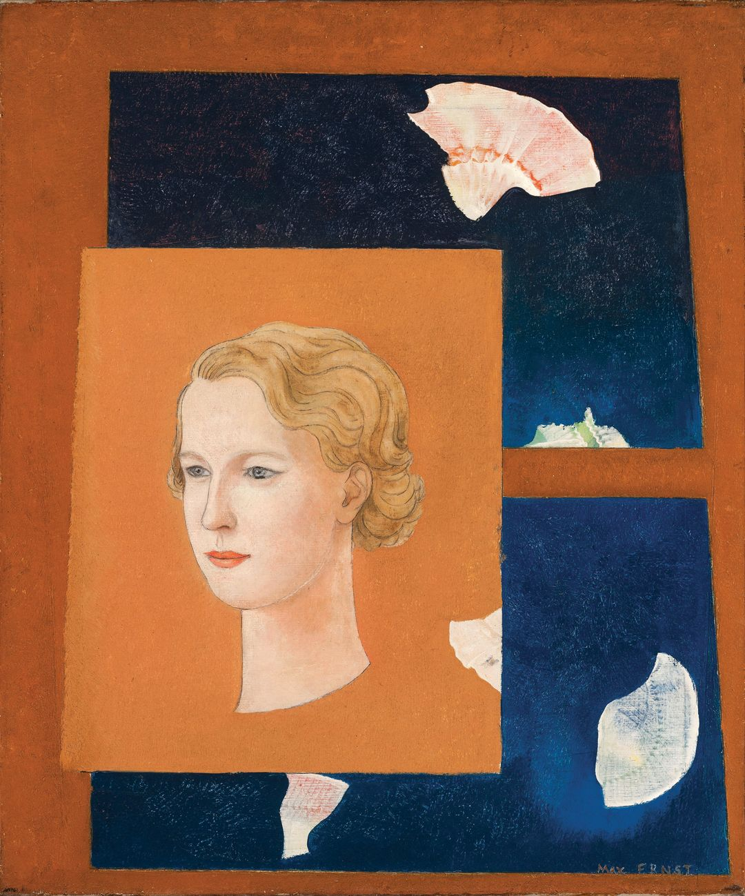 Dominique de Menil portrait by Max Ernst