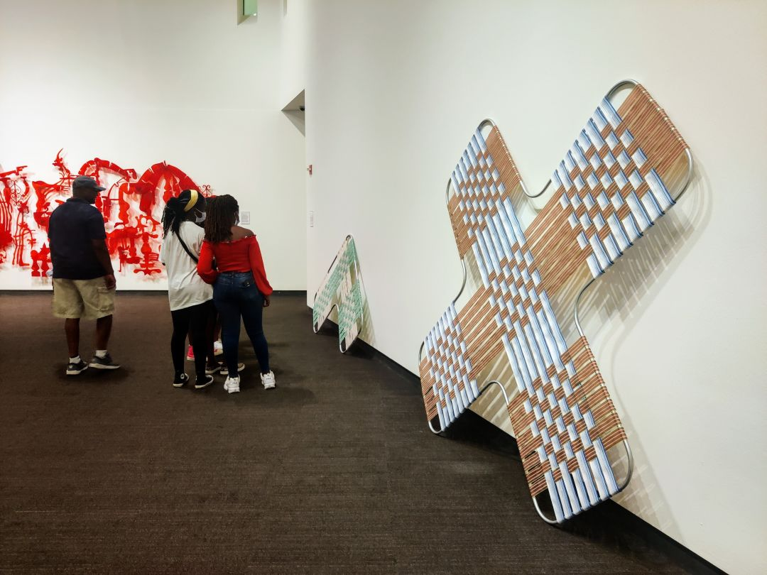 Pieces by Matthew Drennan Wicks at the Museum of Fine Arts