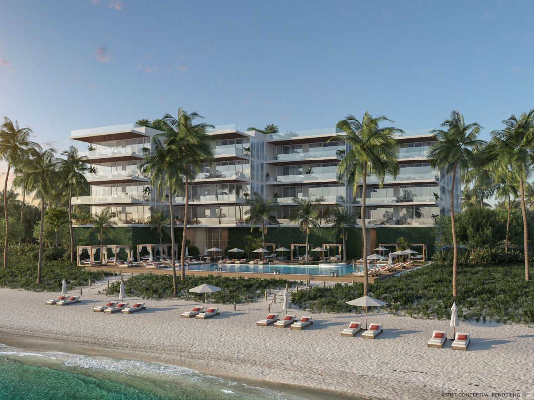 A rendering of the new Sage Longboat Key Residences.