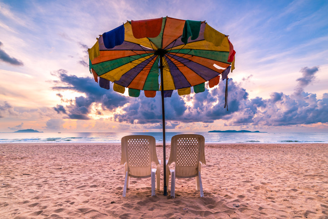 Image of: Beach Umbrella In Shutterstock 657494968 Tpxvmj Beach Umbrellas Primer Houstonia