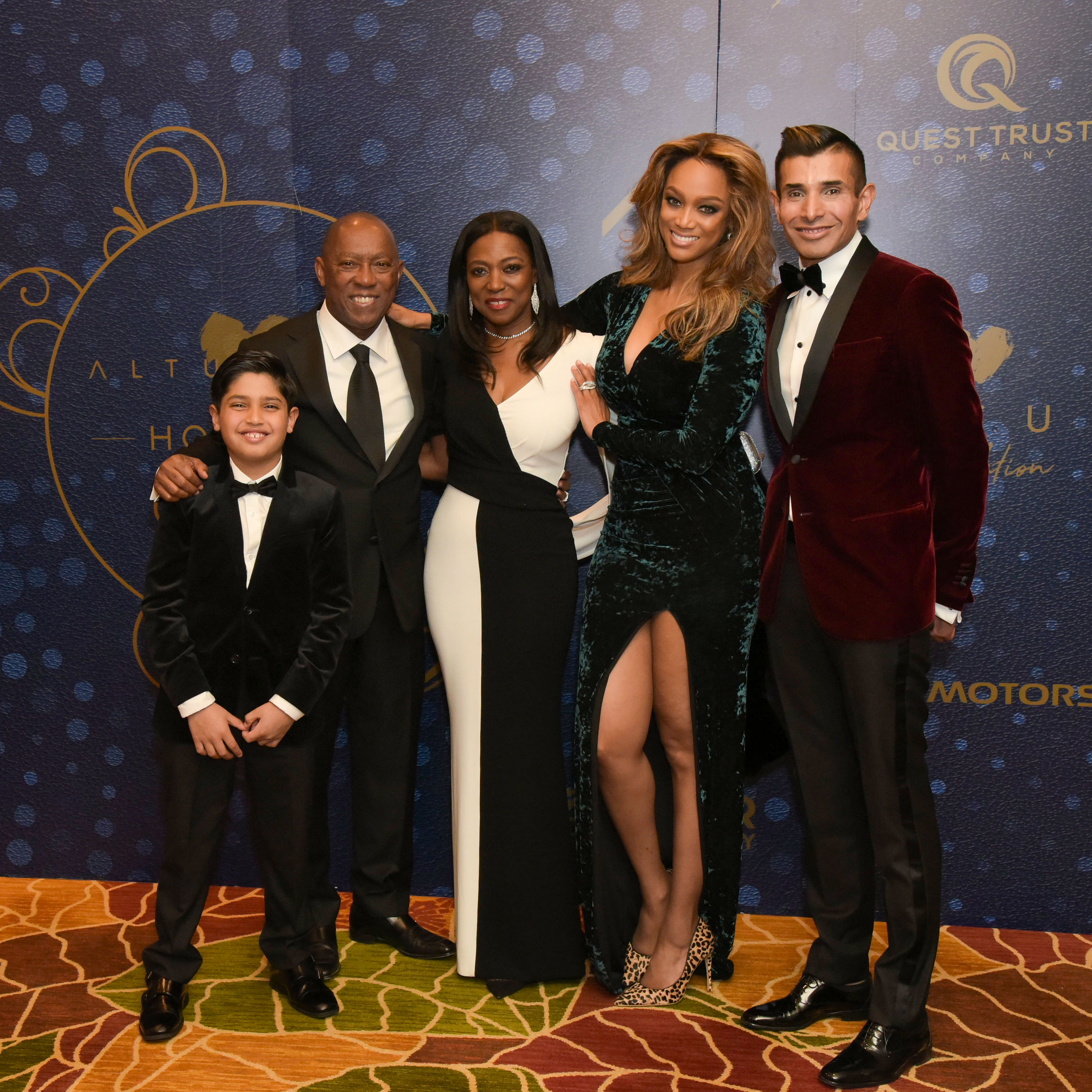 Tyra Banks Family: Charity Events