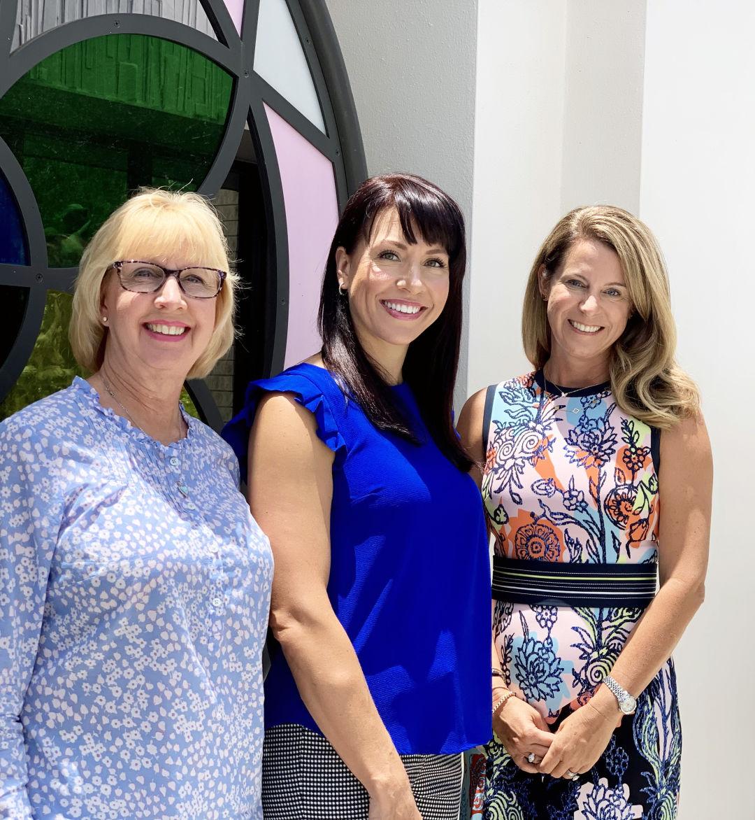 Freya Robbins, Jennifer Steube and Tina Granthon
