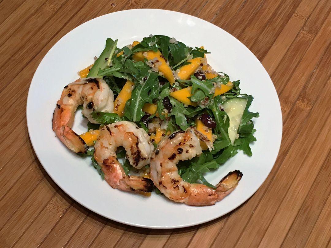 Mango salad w shrimp pbce2c