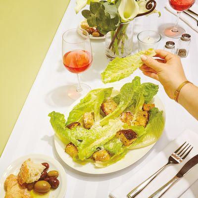 Food history zefiro caesar salad mooszo