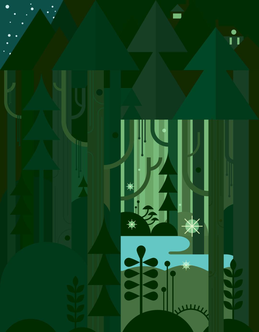 Pomo 1216 mt tabor spring illustration fedtvk