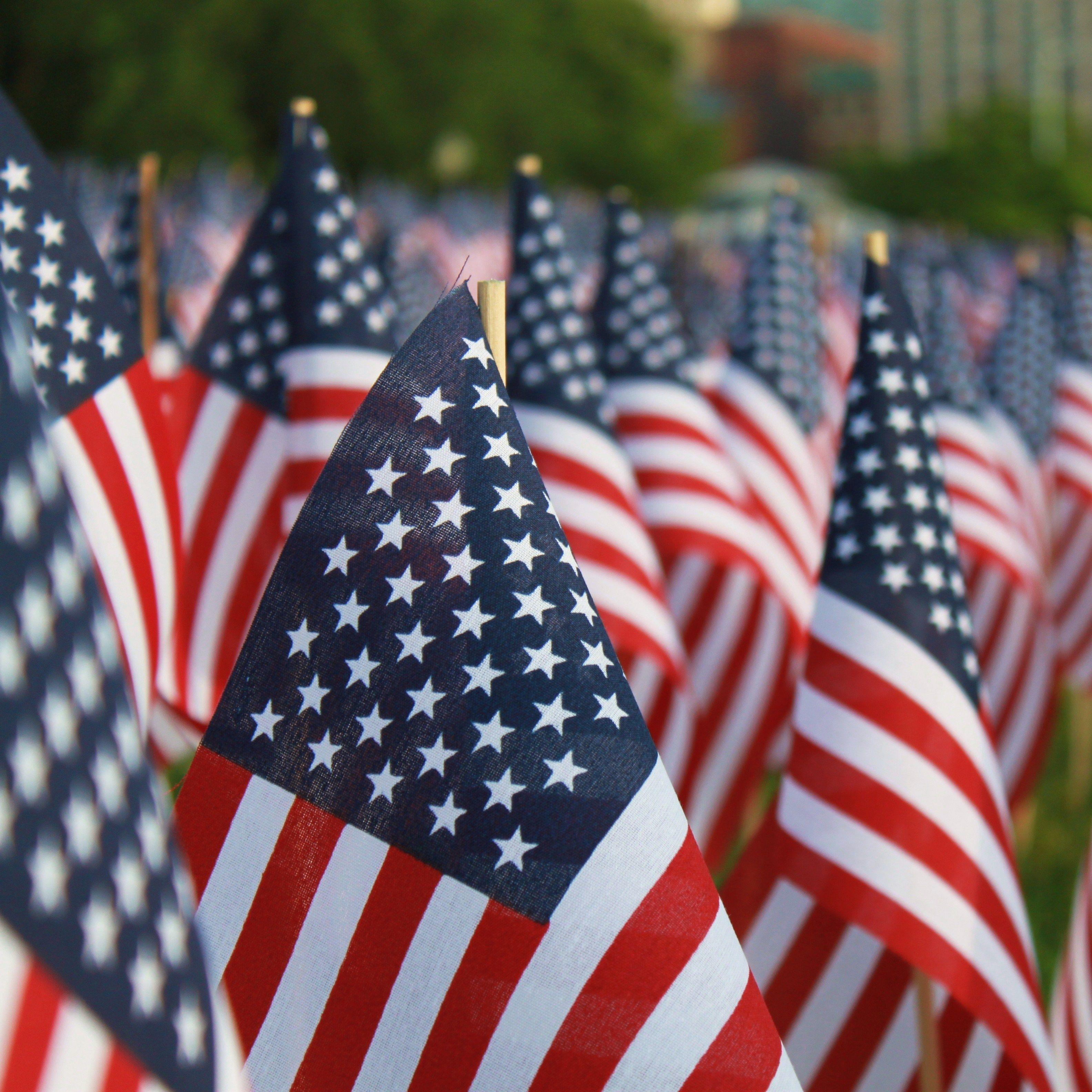American flags shutterstock 400129342 nj8u4q