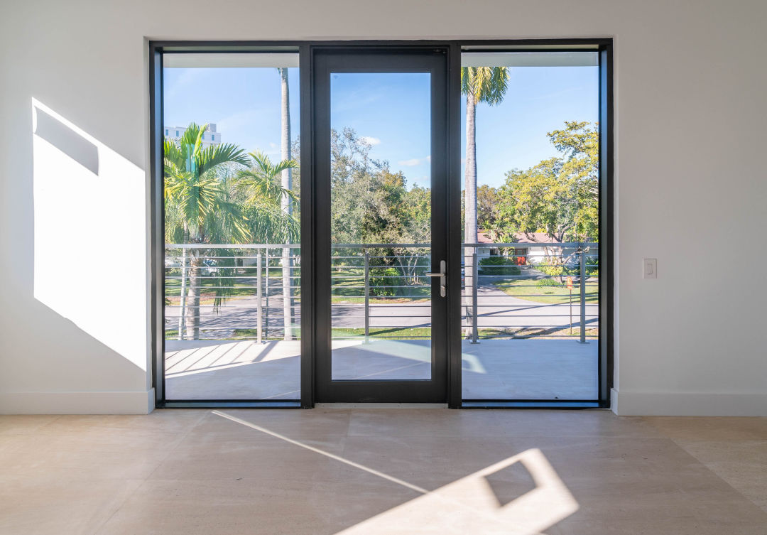 CGI Commercial's SE3450 Storefront Entry Door, which now offers non-impact glass.