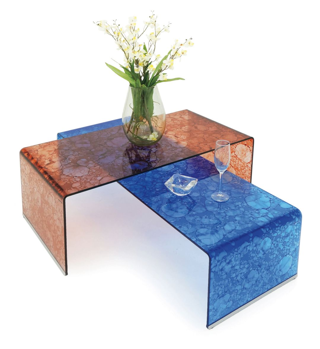 Glassisimo brug tr splotch rust blue gxt4fv