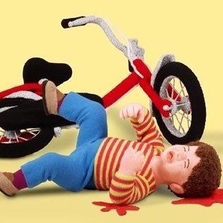 Bicycle accident iutbjj