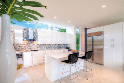 Sleek And Modern Sarasota Kitchen Design Real Estate Sarasota Magazine
