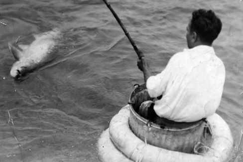 Garbage can fishing 1932 hm7ncs