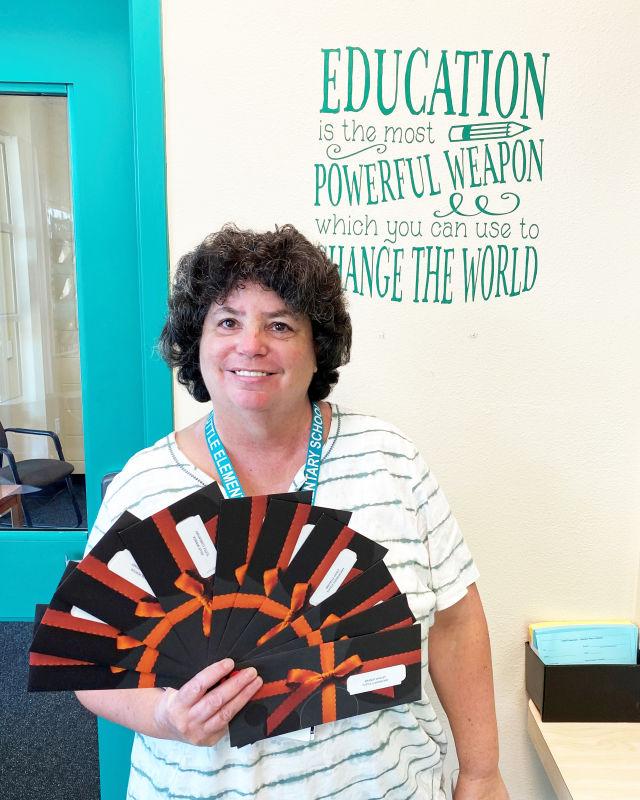 Tuttle Elementary School teacher Amy Edelkind