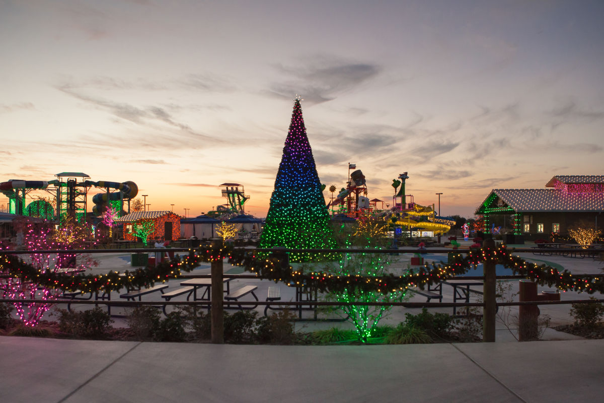 Typhoon Texas Brings The North Pole To Houston With