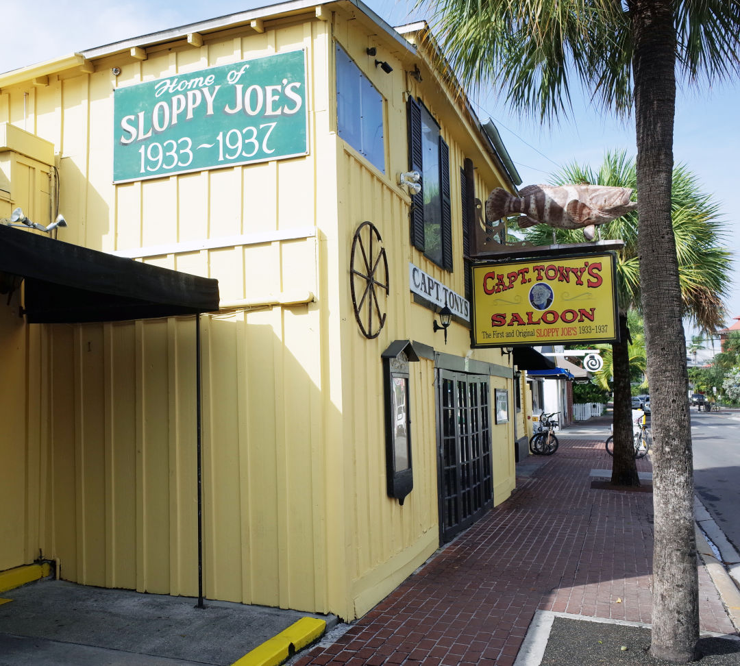 Because they don't serve food, famous bars like Sloppy Joe's and Captain Tony's are currently closed.