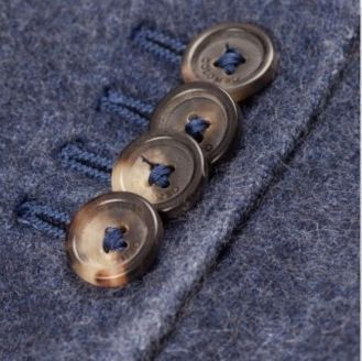 Garment dyed navy blue two button blazer in cashmere fleece lanificio colombo gi0500 m136p 43010 32 fotor collage 1 1000x345 pdzupb