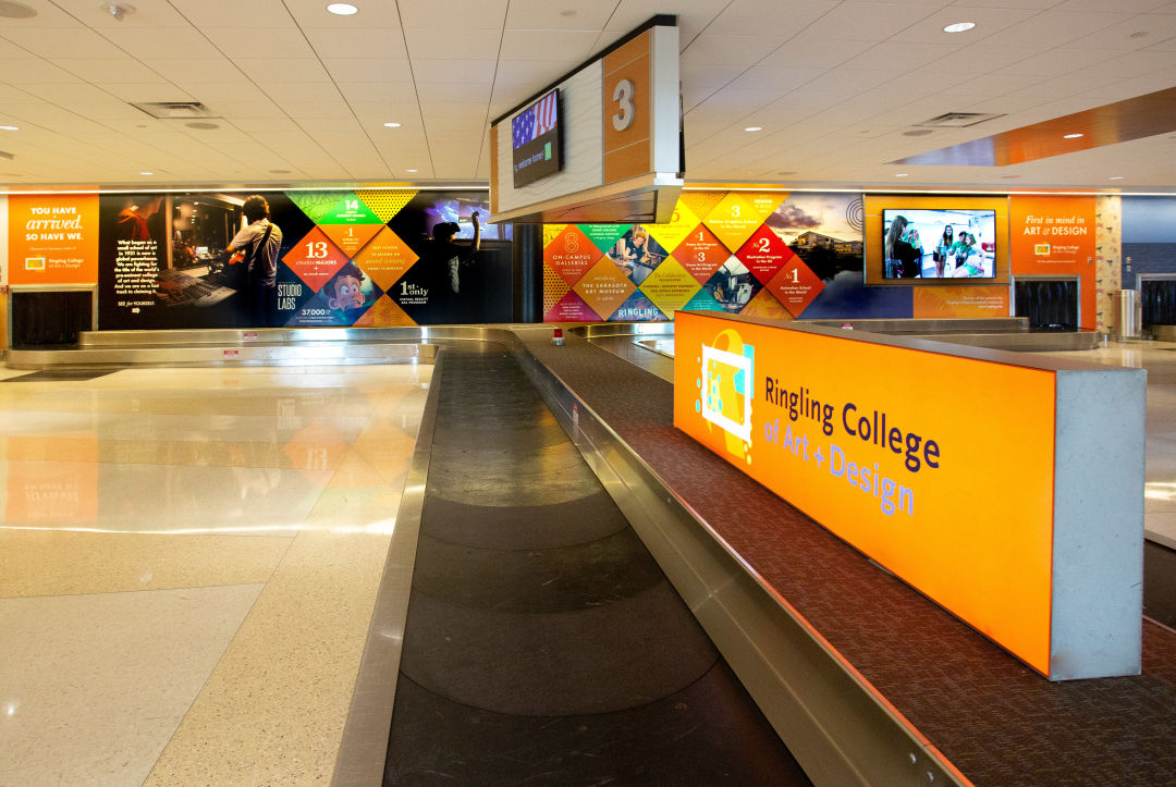 Ringling College Unveils You Have Arrived Installation At
