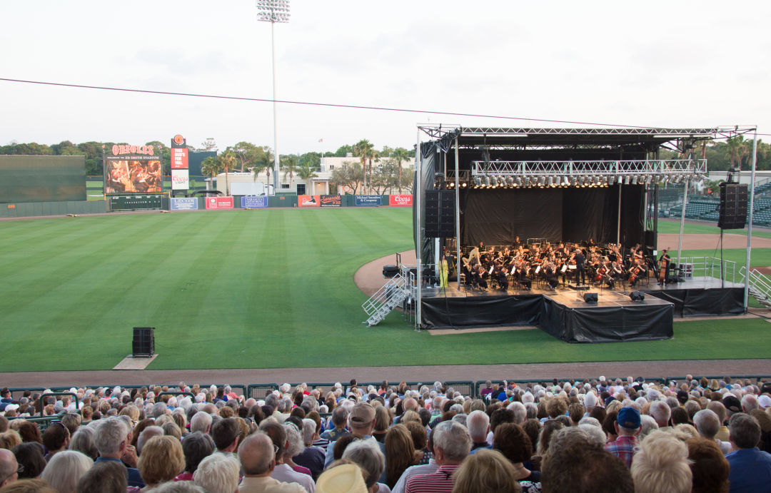 Sarasota orchestra pops ed smith stadium akfm1q
