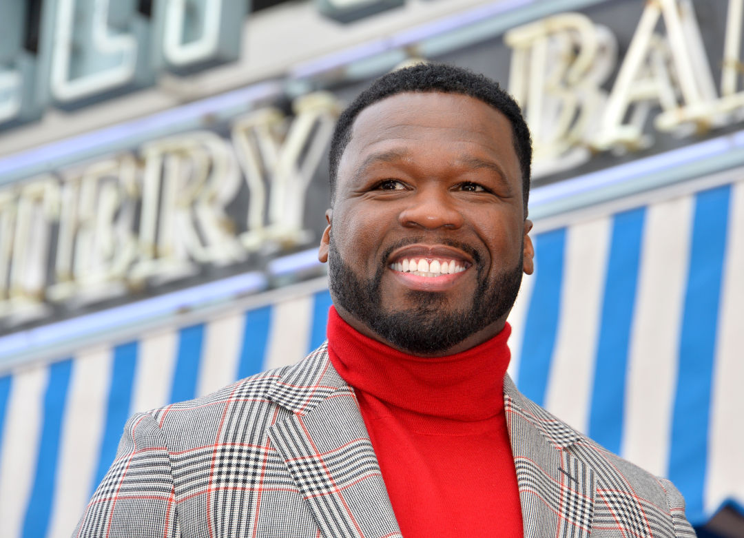 50 Cent smiling