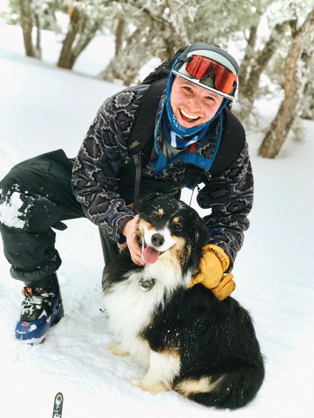 Danny Stern, Ski Patroller