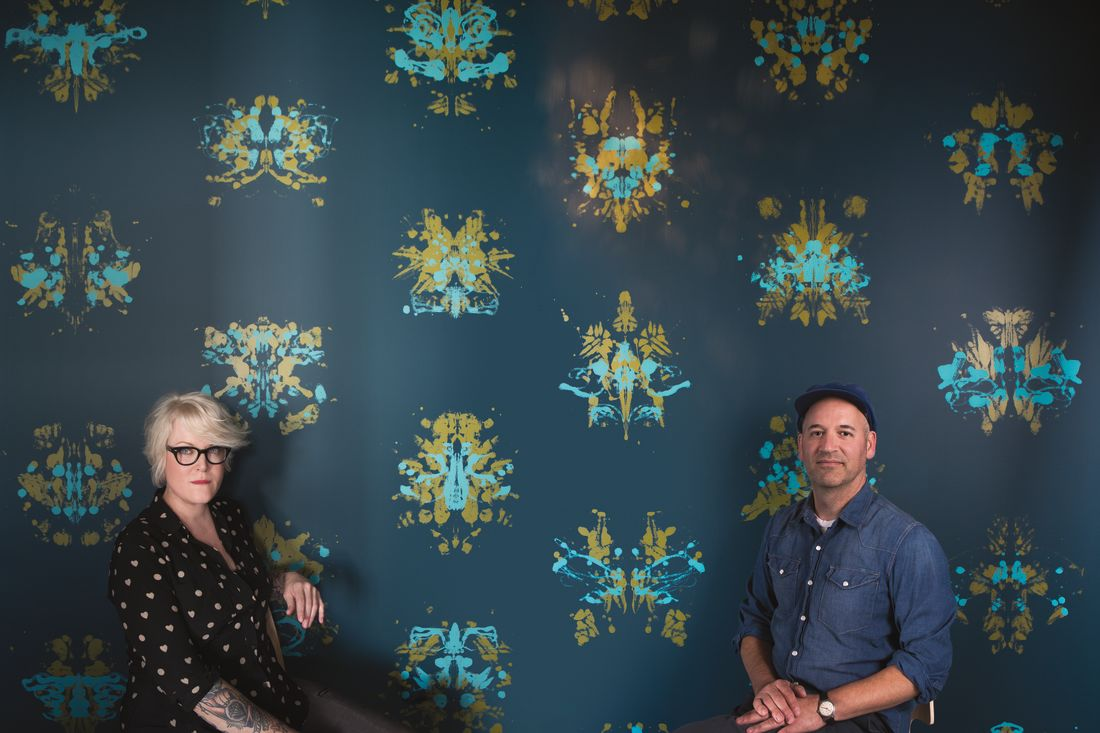 How Two Portlanders Turn Interior Design Into Mind Bending Art Projects