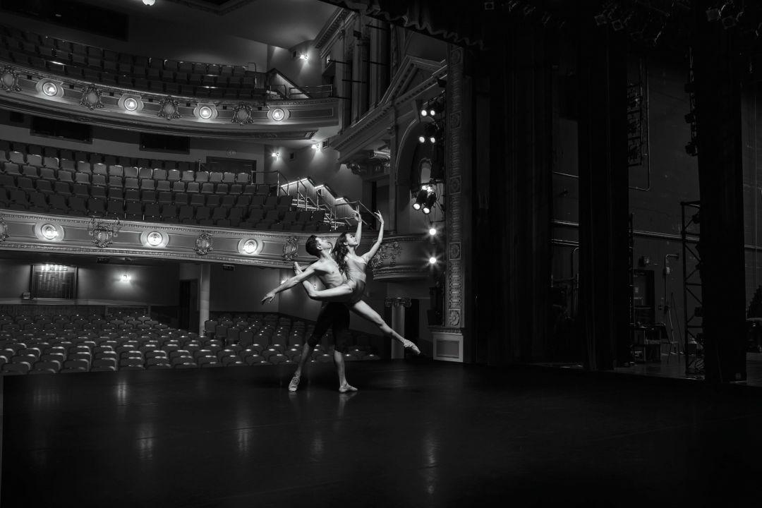 Sarasota Ballet dancers Ricardo Graziano and Ryoko Sadoshima.