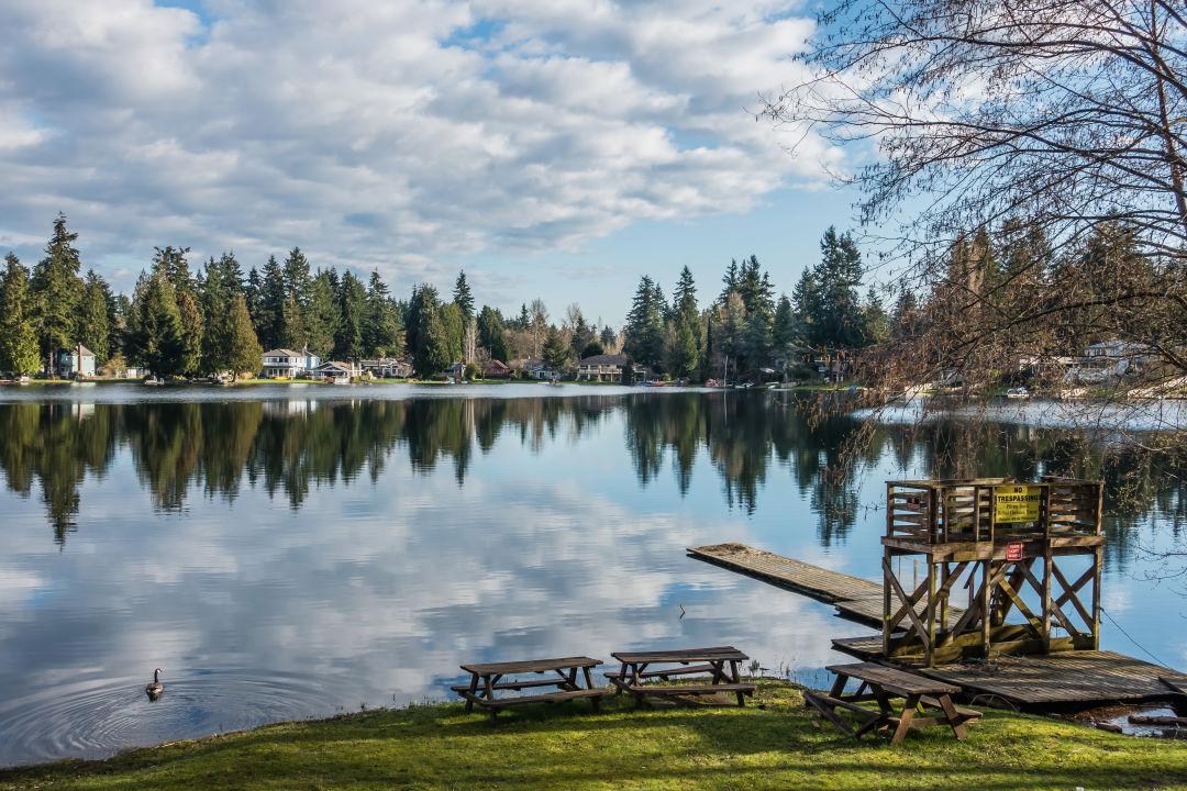 Federal Way lake view