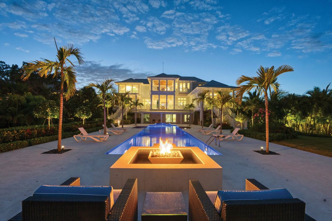 A luxury home on Casey Key