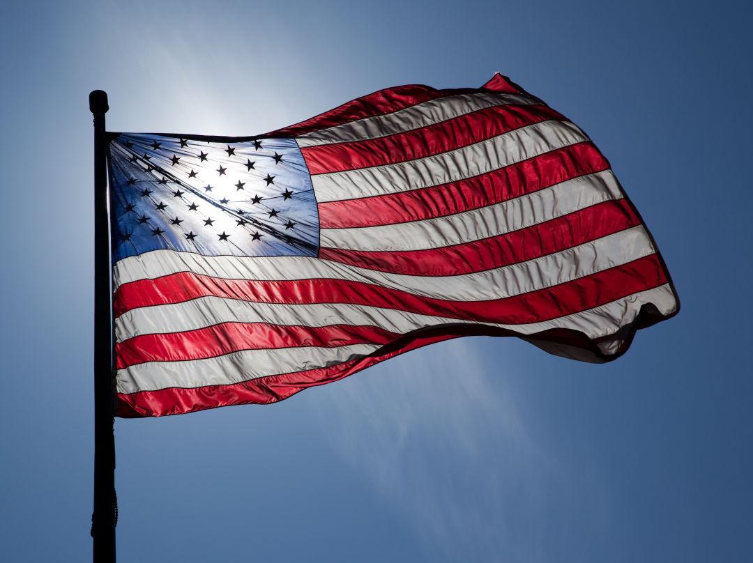 American flag ylhvyq