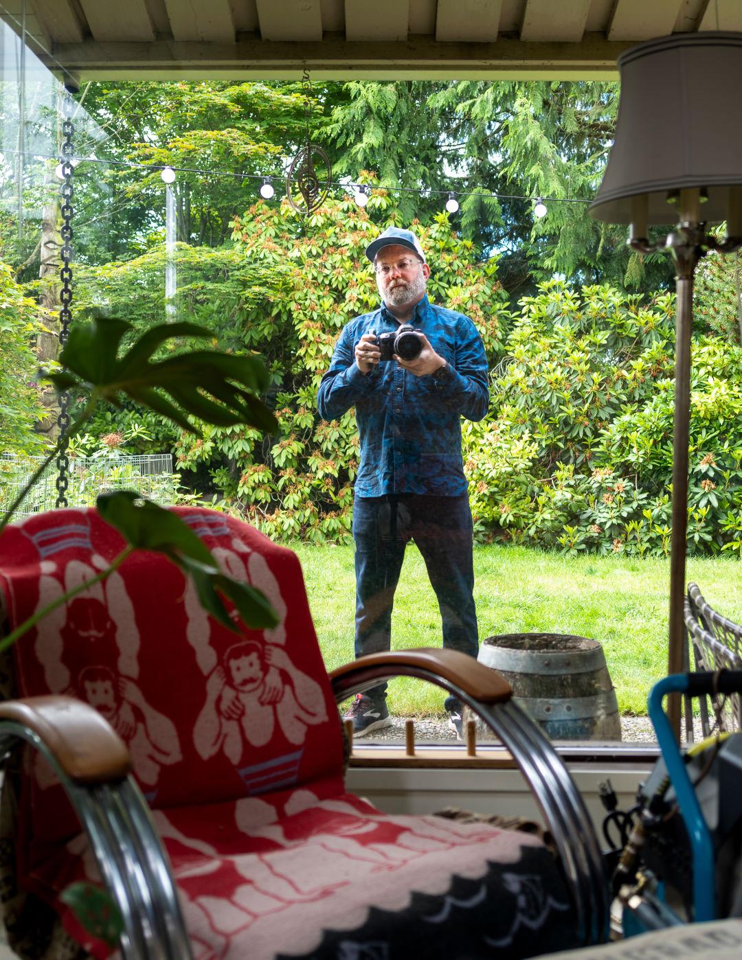 The Story Behind Steven Miller S Brilliant Quarantine Portraits Seattle Met
