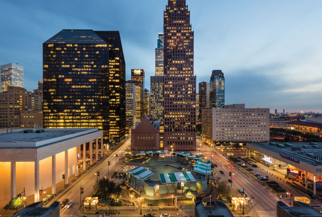 How Downtown Houston Went From Barren To Bustling Houstonia