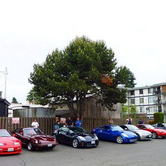 Z car meeting at dicks 4501 ftyibu