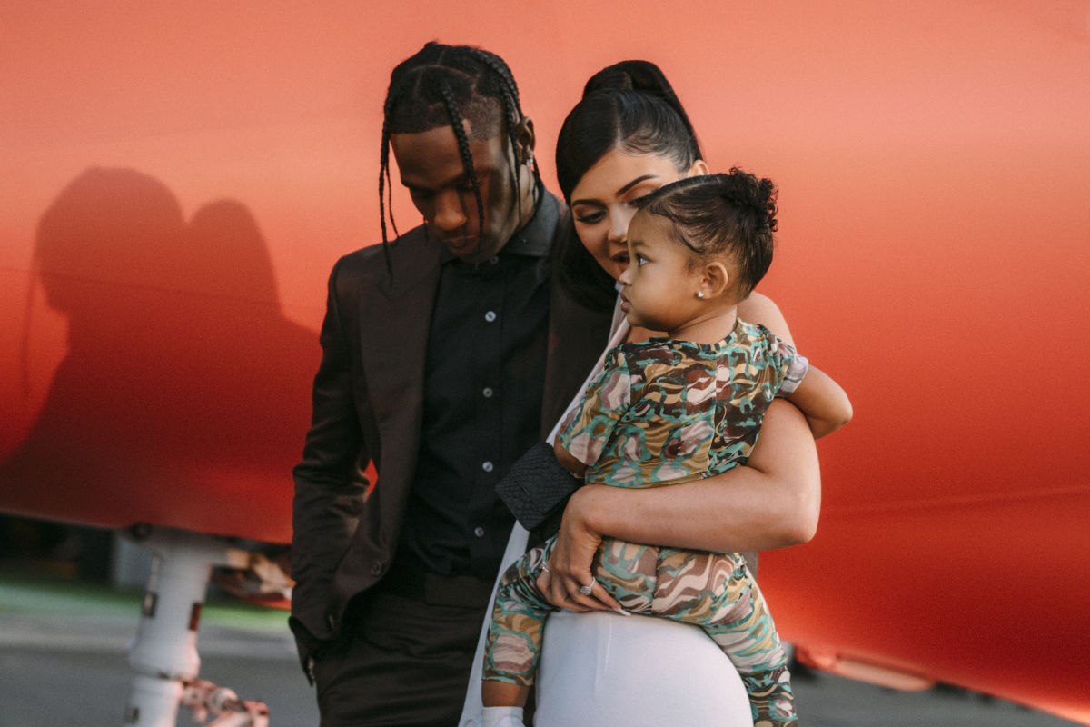 Travis Scott, Kylie Jenner, and—Most Importantly—Stormi Webster Walk the Red Carpet Together