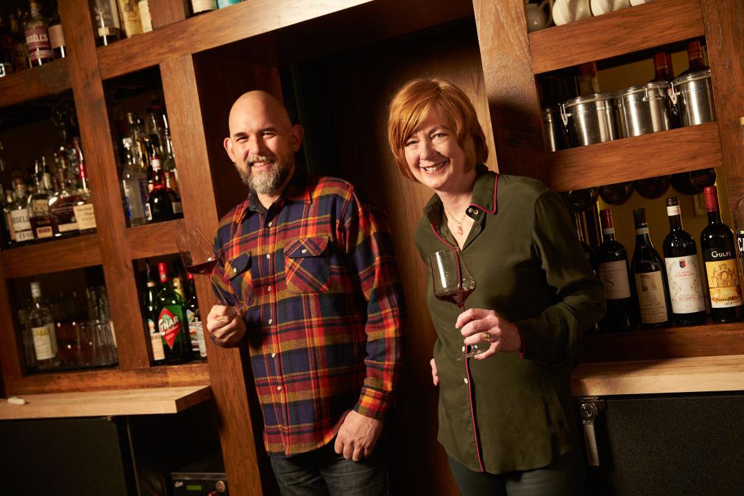 02 chef owner cathy whims with wine   spirits director austin bridges kklqwv